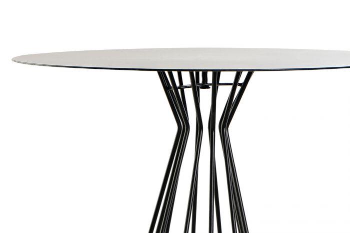 Tafel - Salontafels - Auxiliary table metal 33,5x33,5x44,5 navy blue
