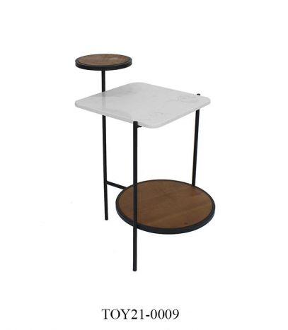 Tafel - Salontafels - Auxiliary table metal 56,5x38x66