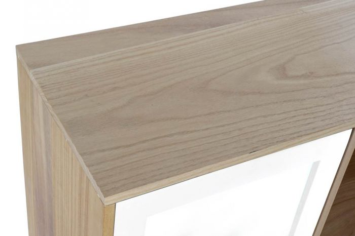 Kast - Dressoir - Buffet paulownia mdf 120x35x80 4 caj white