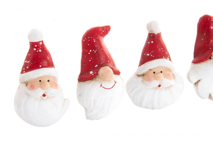 Babbo 4 Natale.Calamita Resina 4 5x6 Babbo Natale 4 Mod