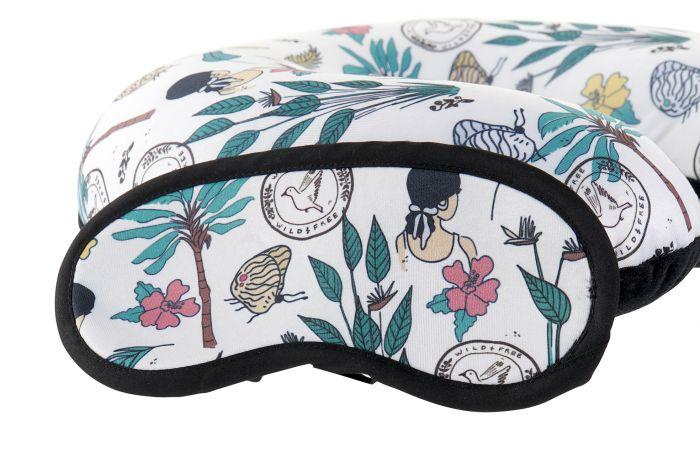Textiel - Kussens - Travel cushion set 2 polyester foam 30x30x10
