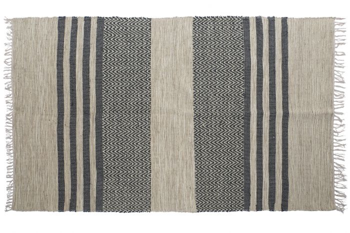 Carpet Jute Cotton 230x160 1200 Gr Brown