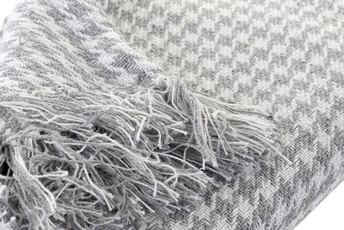 Textiel - Karpetten - Plaid cotton 130x170x0,5 flecos 2 mod.