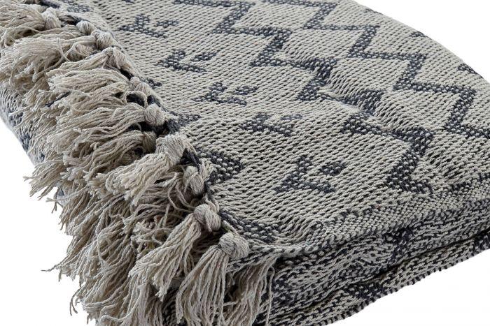 Textiel - Karpetten - Plaid cotton 130x170 450 gsm, romos 2 mod.