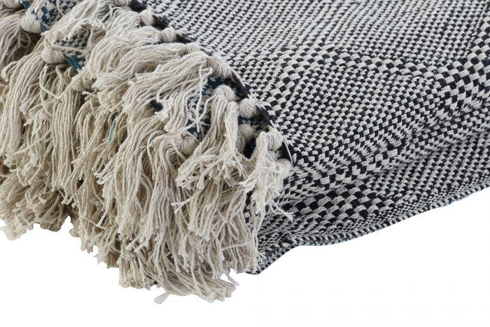 Textiel - Karpetten - Plaid cotton 130x170x1 450 gsm, romos 2 mod.