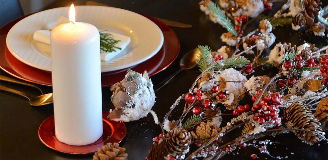 decoración navideña item international