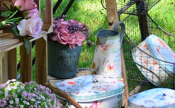 meubles de décoration de jardin