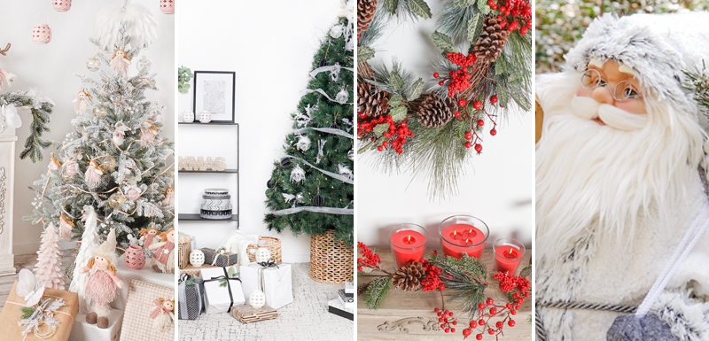 Decorate your home with these 4 Christmas styles