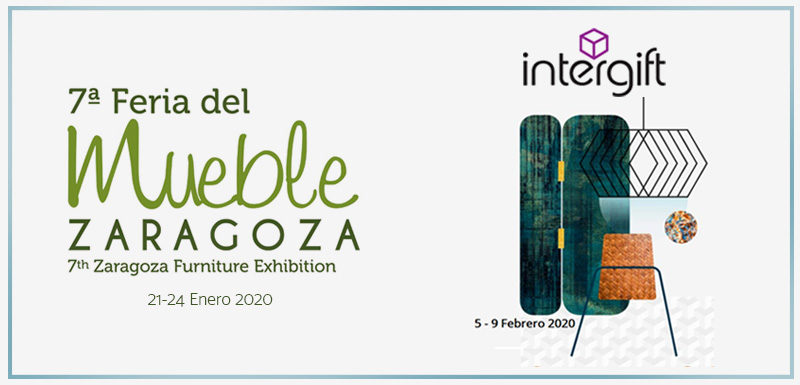 Zaragoza Furniture Fair followed by Intergift